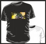 KOOLART TYRE TRAX 4x4 Design for Green Land Rover Defender mens or ladyfit t-shirt